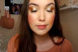 Wake Up Your Makeup- 'Thodea, Goddess Of Tranquillity' – Gold, Silver, And Copper Metallic Eye Look