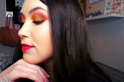 Wake Up Your Make Up Look 3 – Alena, Goddess Of Fire – Gold, Fire Orange Make Up Tutorial